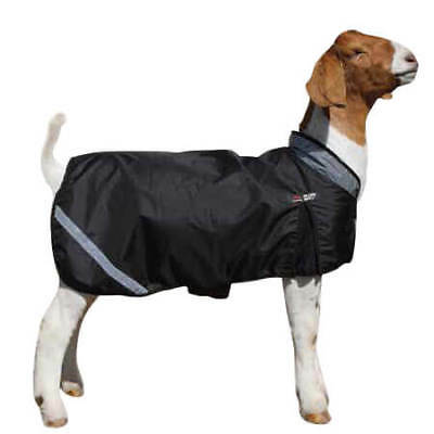 Sullivan Supply Wether Shield Insulated Goat Blanket M (40-60 lbs) Black