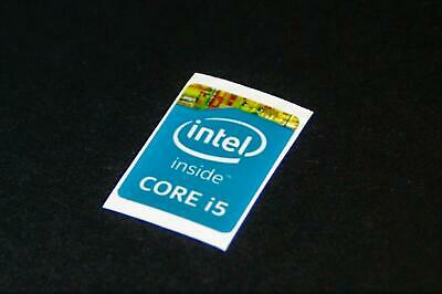 Core i5 21mmx16 Blue Intel Core i5 Haswell Sticker/Sticker From