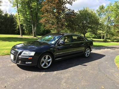 2009 Audi A8 luxury wood trim 2009 Audi A8 L Quattro AWD