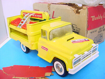 1960s BUDDY L 1ST VERSION COCA-COLA FORD TYPE DELIVERY TRUCK #5426 UNUSED BOXED!