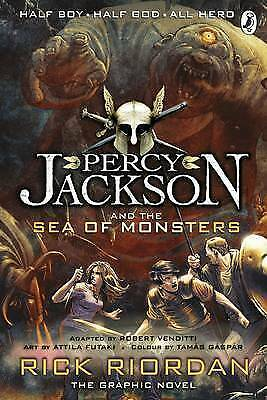 Percy Jackson and the Sea of Monsters: The Graphic Novel (Bo... by Riordan, Rick