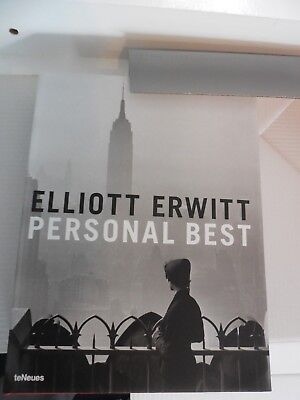 SIGNED ELLIOTT ERWITT PERSONAL BEST 2006 AUTOGRAPHED 1ST ED HC FINE Collectible