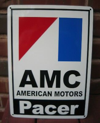 AMC Pacer American Motors Racing Sign AMX Service Mechanic Garage Ad SIGN 10DAY
