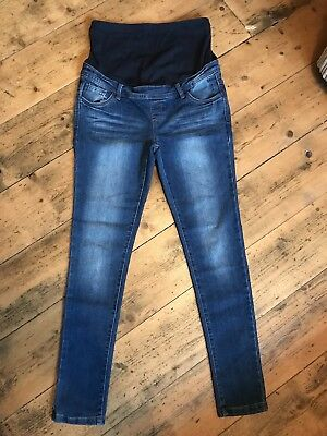 Red Herring Maternity Over Bump Jeans Size 10 BNWT