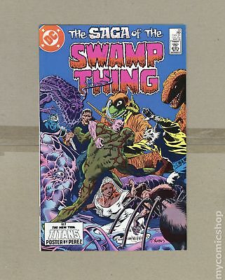 Swamp Thing (2nd Series) #22 1984 VF- 7.5