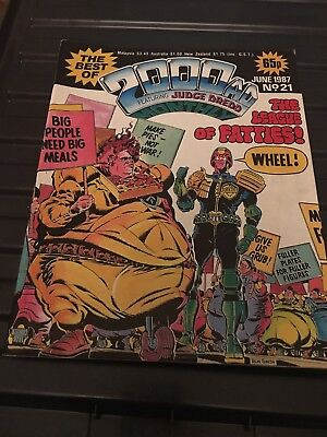 The Best Of 2000ad No21