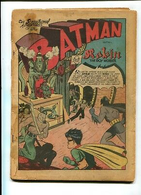 Detective Comics #39 VINTAGE Batman DC Comic Golden Age 10c 2nd Robin Ever
