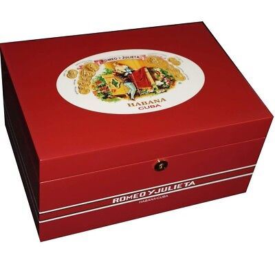 Romeo & Juliet Cigar Humidor - 100 Cigars - Limited Illustrious Collection