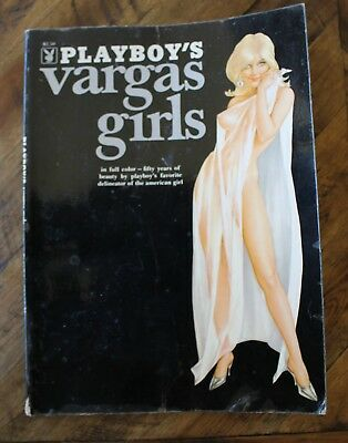 Playboy's Vargas Girls BOOK Pin Up Art 1972 114 Pictures!