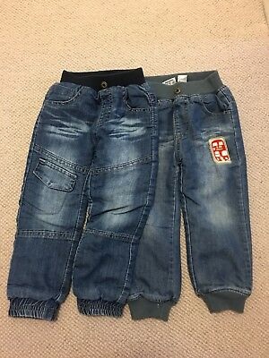 x2 Boys Winter Trousers 2-3 Years