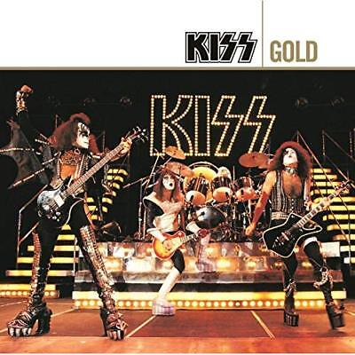 Kiss GOLD Best Of 40 Essential Songs GREATEST HITS New Sealed 2 CD