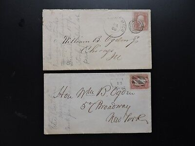 1860s MA +MI DOCKET WILLIAM B OGDEN ! CHICAGO IL MAYOR +RAILROAD +ABE LINCOLN +!