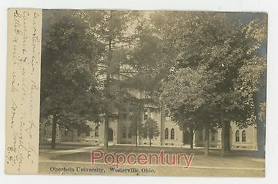Postcard 1906 Ohio Westerville Otterbein University Pub DW Shorts Posted WV