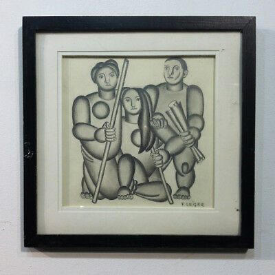 Fernand Leger drawing on paper -REDUCED PRICE