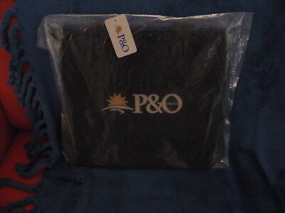 P&O Cruise Lines Wet-suit Type Material Double Sided Colour Carry Bag Brand New