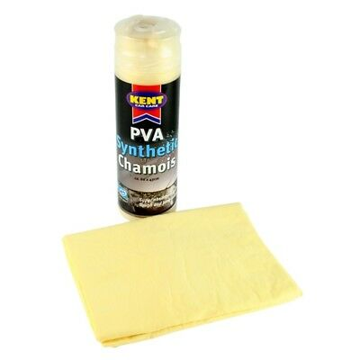Kent Car Care Pva Synthetic Chamois In Canister, Large