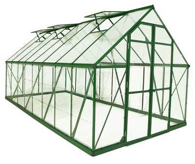 Balance Hobby Greenhouse with Panel in Green [ID 3423590]