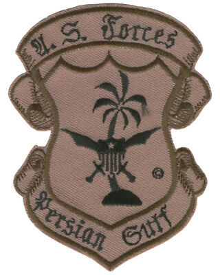 Patch: US Forces Persian Gulf, Desert Storm, OIF, Army USMC Navy USAF