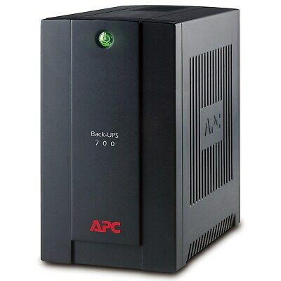 APC by Schneider Electric Back-UPS Line-interactive UPS - 700 VA/390 W - Towe...