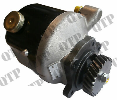 Ford New Holland 83960261 Power Steering Pump 7610 From 4-85 5110, 5610, 6410, 6