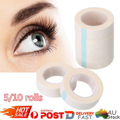5/10 Rolls Professional Eyelash Lash Extension Tool Micropore Paper Medical Tape