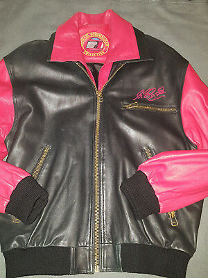 Jacke. Echtes Leder. Michael Schumacher Collection. Gr 50