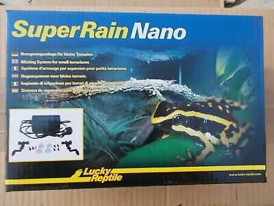 SUPER RAIN NANO Aspersion pour terrarium