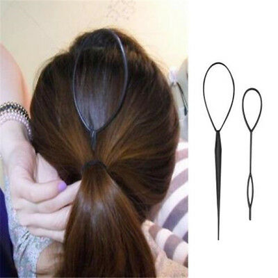 Practical Hair Buckle Styling Tool Braid Hair Tail Styling Clip Bun Maker 8C