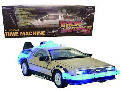 Ritorno al Futuro DeLorean Mark 1 Time machine Back to future II 1/15th Diamond