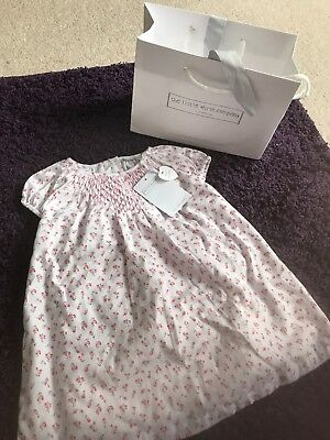 The Little White Company Baby Girl Brand New With Tags Dress 6 To 9 Months Gift