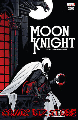 Moon Knight #200 (2018) 1St Printing Bagged & Boarded Marvel Comics ($4.99)