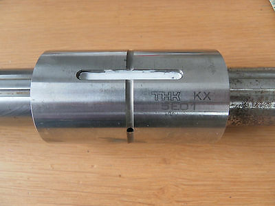 Linear Guide THK KX 5E01 Bearing 30mm shaft 47mm carriage and shaft