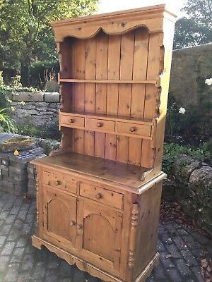 Antique Pine Dresser In Lovely Vintage Condition