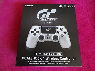 Sony PlayStation PS4 DualShock 4 Wireless Controller (Limited Edition GT Sport)