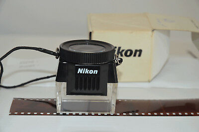 Nikon Original 35mm Negative Viewer - N E W - with Box + Strap !!!  RARE !!!