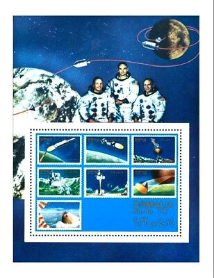 Somalia / Somali: 'Apollo-11 in space, 1970', Mi. BL I **