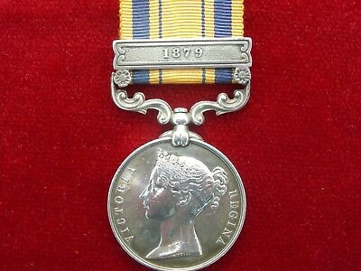 South Africa Medal Zulu Wars With Clasp 1879 To 2134 Pte T. Lightburn 2/4 Foot