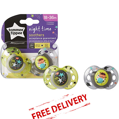 Dummy Newborn Soother Tommee Tippee Closer To Nature Pack Of 2 0 to 2 Months