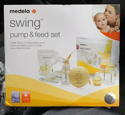 Medela Swing Pump And Feed Set Brand New Sealed