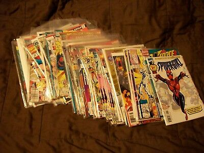large 60+  lot of  Mixed Marvel comics listed below