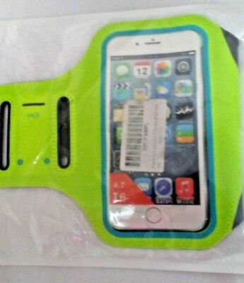 Iphone 6 Running Armband Lime/Grey