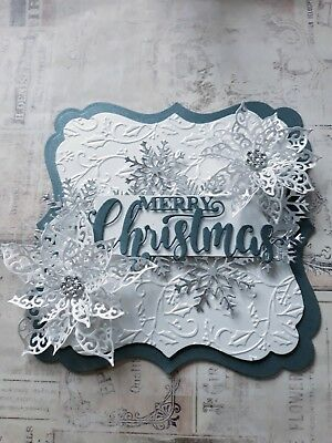 Handmade Die-cut Quality Card Toppers Christmas