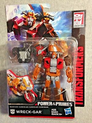 Transformers Generations Power of the Primes Wreck Gar exclusive