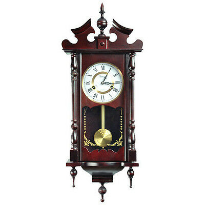 NEW Watch Hanging RETRO VINTAGE ANTIQUE WALL CLOCK WOOD OLD Style Pendulum time
