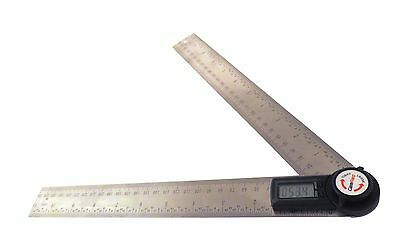 "12.5"" GemRed Digital  Goniometer Protractor Angle Finder Ruler Stainless GR300"