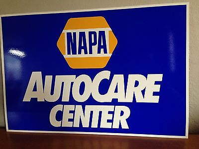"NAPA Sign 16"" x 24"" Advertising, Collectible, Memorabilia"