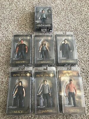 Twilight Saga Action Figures 7 NIB