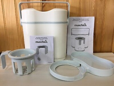 Munchkin Night and Day Bottle Warmer/Cooler FAST FREE SHIPPING