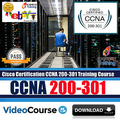 CCNA 2018 200 125 Routing and Switching,Security 210-260 Video Training DOWNLOAD