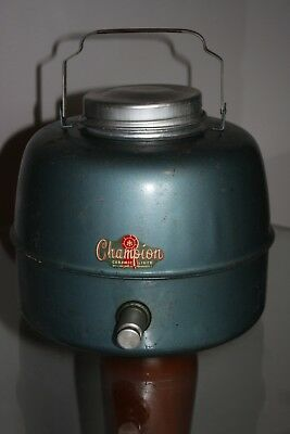 Vintage Antique Champion Thermos